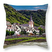 Town Of Kestert Throw Pillow