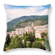 Town Of Tivoli Throw Pillow