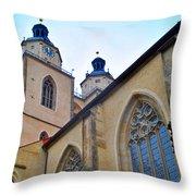 Town Parish Church Throw Pillow