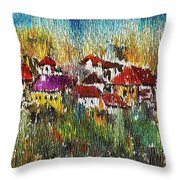 Town To Country Throw Pillow