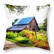 Townville Barn Throw Pillow