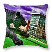 Towson Tigers Throw Pillow