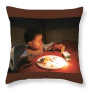 Toy And Cookie Throw Pillow