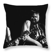 Toy And George In Spokane Throw Pillow