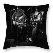 Toy And Tommy At Winterland 1976 Throw Pillow
