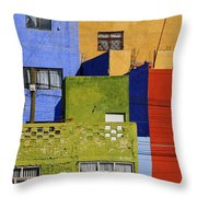 Toy Box Throw Pillow