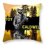Toy Caldwell At Amber Lake 2 Throw Pillow