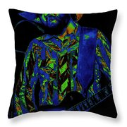 Toy Caldwell Jamming 3 Throw Pillow