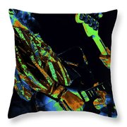 Toy Caldwell Jamming Throw Pillow
