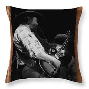 Toy Caldwell Of The Marshall Tucker Band Throw Pillow