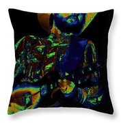 Toy Caldwell Searchin' For A Rainbow Throw Pillow