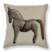 Toy Horse Throw Pillow