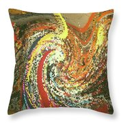 Toy Tsunami Throw Pillow