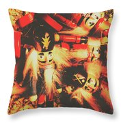 Toy Workshop Soldiers Throw Pillow