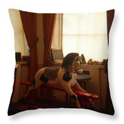 Toying With Throw Pillow