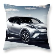 Toyota C-hr Throw Pillow