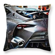 Toyota Ft-1 Concept Number 1 Throw Pillow