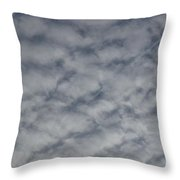 Trace Of Airplane Throw Pillow