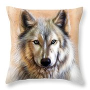 Trace Two Throw Pillow by Sandi Baker