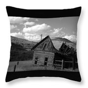 Traces Of The Past Throw Pillow
