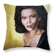 Tracey Ross Throw Pillow