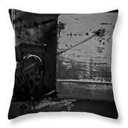 Track Plow Throw Pillow