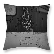Track Plow Swing Throw Pillow