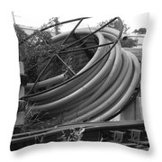 Tracks And Cable Throw Pillow