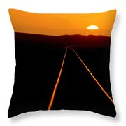 Tracks Of My Tears Throw Pillow