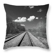 Tracks To Nowhere 1520 Throw Pillow