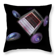 Traction Throw Pillow