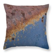 Tractor Decomposition Throw Pillow