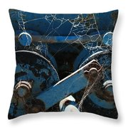 Tractor Engine IIi Throw Pillow by Stephen Mitchell