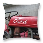 Tractor, Ford  Throw Pillow