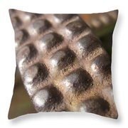Tractor Traction Throw Pillow