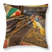 Trading Post Items Hermann Farm_dsc2657_16 Throw Pillow