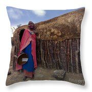 Tradional Home Builder Throw Pillow