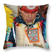 Tradition Vs Technology-2 Throw Pillow