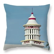 Traditional Algarve Chimney Throw Pillow