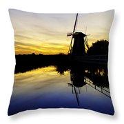 Traditional Dutch Throw Pillow
