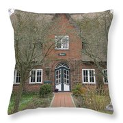 Traditional House 1 Throw Pillow