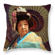 Traditional Japanese Throw Pillow