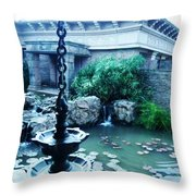Traditional Lamp Throw Pillow