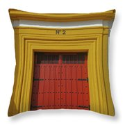 Traditions Of Sevilla Throw Pillow