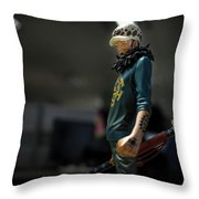 Trafalgar D. Water Law Throw Pillow