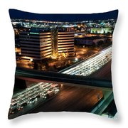 Traffic Jam Throw Pillow