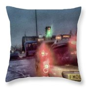 Traffic Throw Pillow