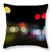 Traffic Lights Number 14 Throw Pillow