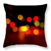 Traffic Lights Number 8 Throw Pillow
