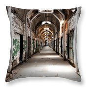 Trail Of Choices Throw Pillow